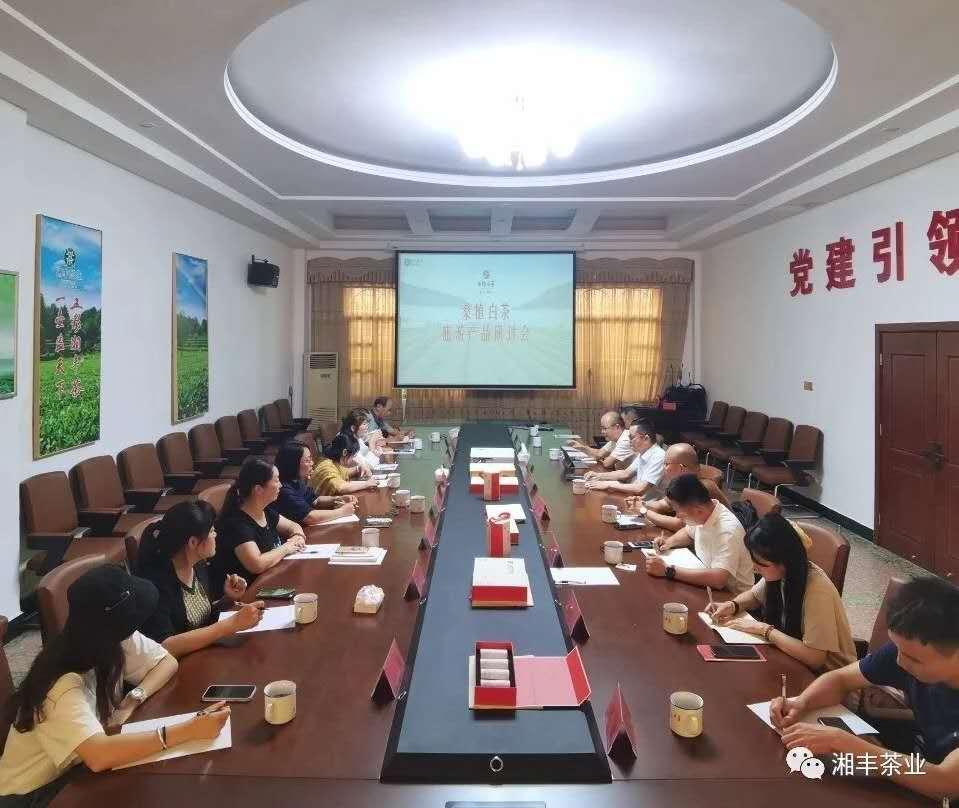 桑植白茶旅游产品研讨会在湘丰茶业集团召开